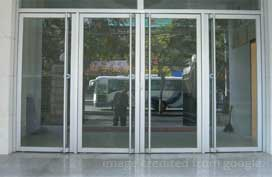 Glass/aluminum doors/frames