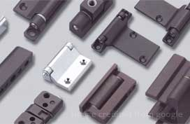 Hinges / continuous hinges / pivots